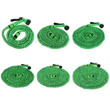 25FT-150FT Garden Hose Expandable Magic Flexible Water Hose EU Hose Plastic Hoses Pipe With Spray Gun To Watering Car Washer Hot