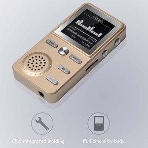 Image 2 - Jinserta Metalen 8 Gb MP3 Speler Lossless Hifi MP3 Sport Muziek Multifunctionele Fm Klok Recorder Luid Stereo Spelers Met Usb kabel