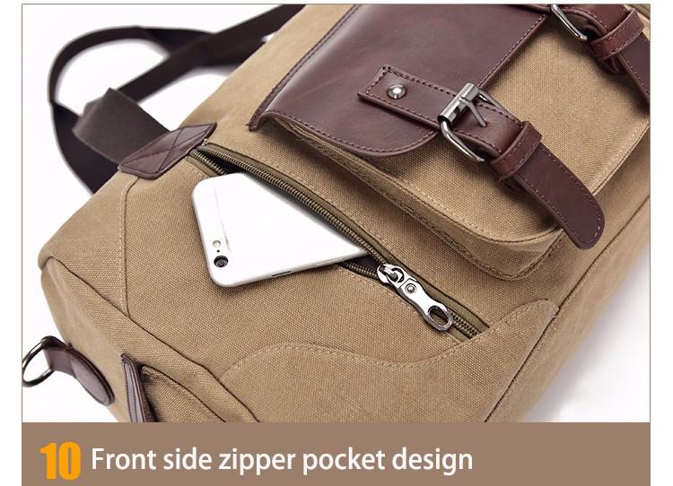 Famous Brand Men Vintage Canvas Men Travel Bags Women Weekend Carry On Luggage & Bags Leisure Duffle Bag Large Capacity Handbags (41)
