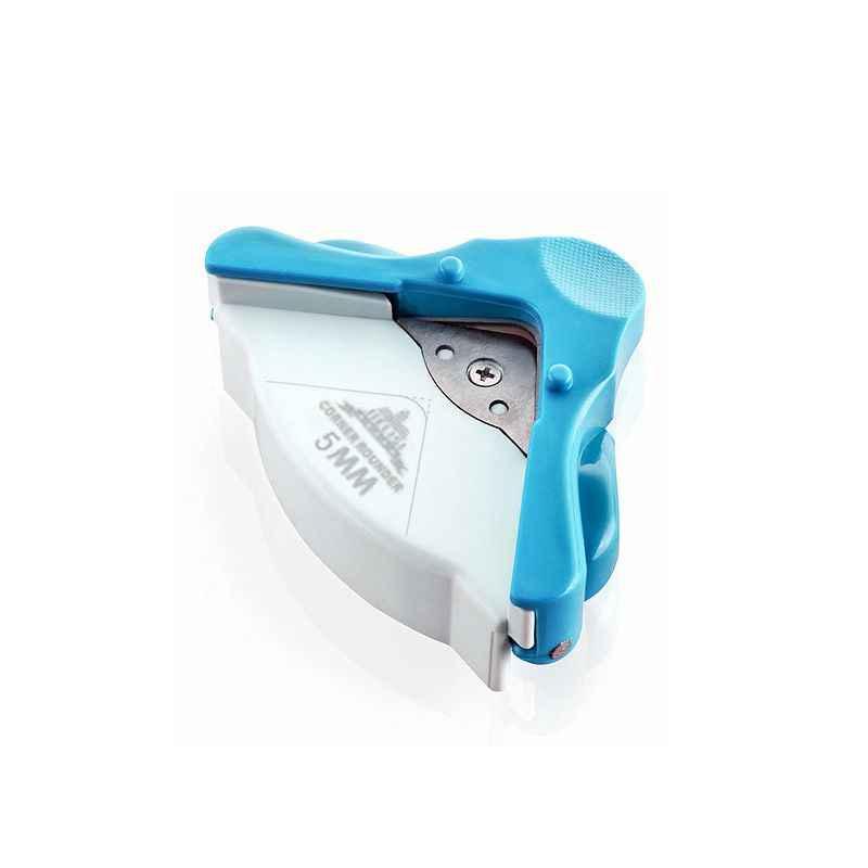 DIY Мини угловая камбала 5 мм Дырокол ремесло круг шаблон фото резак инструмент канцелярские ручное отверстие Ремесло Скрапбукинг