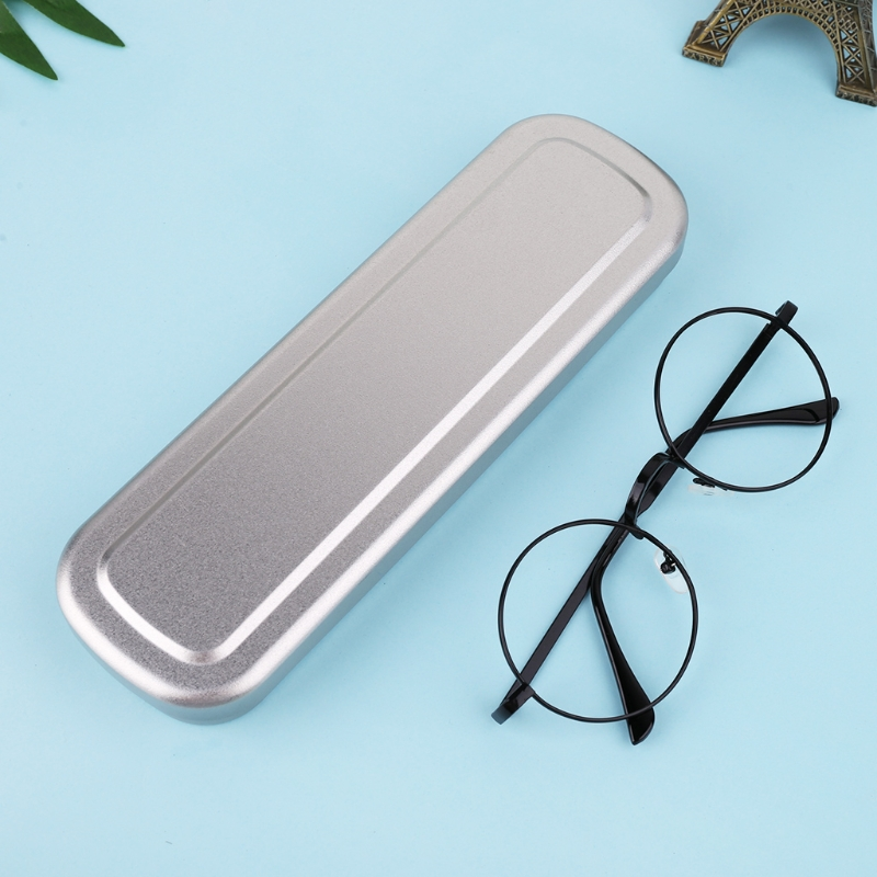 Iron Pen Case Portable Pencil Box Student Stationery Storage Office Supply