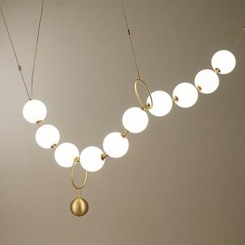 Moderno LED lampadario soggiorno camera sospeso apparecchi di illuminazione loft lampada deco sala da pranzo appendere le luci Nordic camera da letto illuminazione