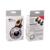 Led lente de la luz de relleno 4 archivos de atenuación de flash del teléfono selfie con lente gran angular + macro para iphone samsung smartphone lp1568