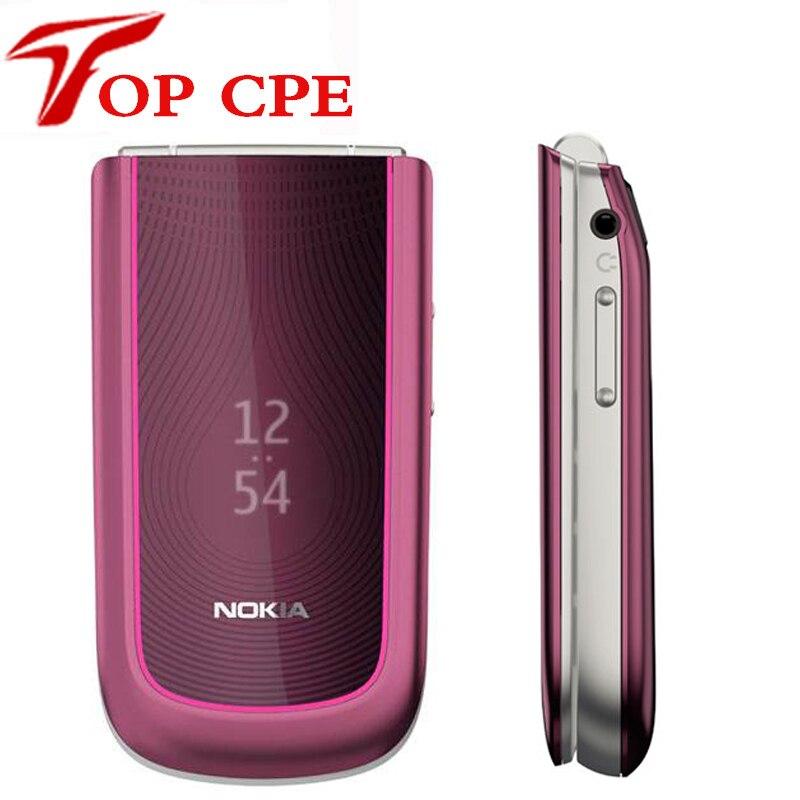 bilder für 3710 original Nokia Flip 3710 entsperrt Refurbished handy 3G 3.2MP Kamera bluetooth freies verschiffen russische tastatur