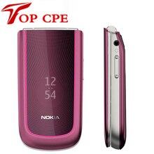 3710 оригинальный Nokia Флип 3710 разблокирована Восстановленное сотовый телефон 3 Г 3.2MP Камера bluetooth бесплатная доставка русская клавиатура
