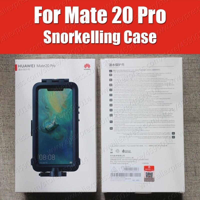 ดำน้ำตื้นสำหรับ Huawei Mate 20 ดำน้ำ Pro Protector กรณีกันน้ำอย่างเป็นทางการ Mate20 Pro ถ่ายภาพใต้น้ำฝาครอบ-ใน เคสที่ติดตั้ง จาก โทรศัพท์มือถือและการสื่อสารระยะไกล บน AliExpress - 11.11_สิบเอ็ด สิบเอ็ดวันคนโสด 1