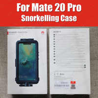 Snorkelling Case For Huawei Mate 20 Pro diving Protector Case Waterproof Official Original Mate20 Pro Underwater shooting Cover