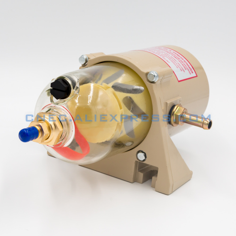 500FG OEM ASSEMBLY FUEL WATER SEPARATOR FILTER TURBINE DIESEL ENGINE FILTER MARINE SET PARTS INCLUDE 2010PM FOR Racor fuel tank assembly w cap filter for honda gx110 gx120 4hp 118cc gasoline inlet outlet joint filter parts