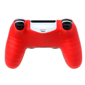 Image 4 - 2018 neue Schädel Silikon Gamepad Abdeckung Fall + 2 Joystick Caps Für PS4 Pro Slim Controller