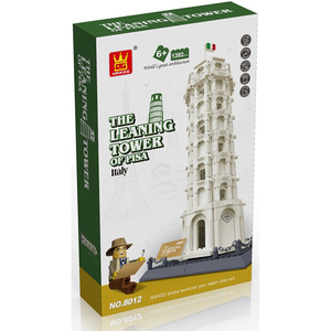 Image 3 - Wange 8012 Pisa Leaning Tower Building Block Structure Building Blocks Kids Educational Toy Wange Block Gift Toys For Children