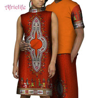 9d76bdaddb 2019 New Summer Dress African Mens Print Top And Pants Sets Couple Clothing  Bazin Riche 2