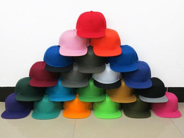 8c7b364c Wholesale cheap plain black snapback cap bulk baseball hats adjustable  sport teams free shipping