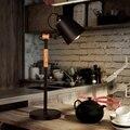 LukLoy  скандинавские светодиодные настольные лампы для спальни  модные  креативные  деревянные  светодиодные настольные лампы для глаз  насто...