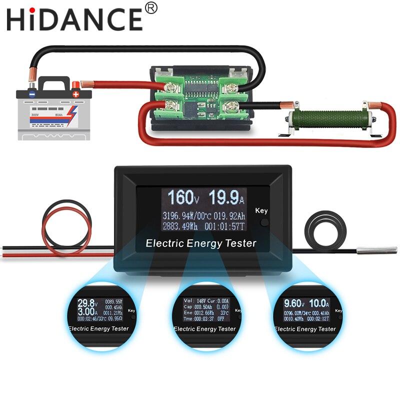 150 V 3KW DC voltímetro digital amperímetro 20A fonte de alimentação de tensão metros detector wattímetro volt atual indicador tester capacidade