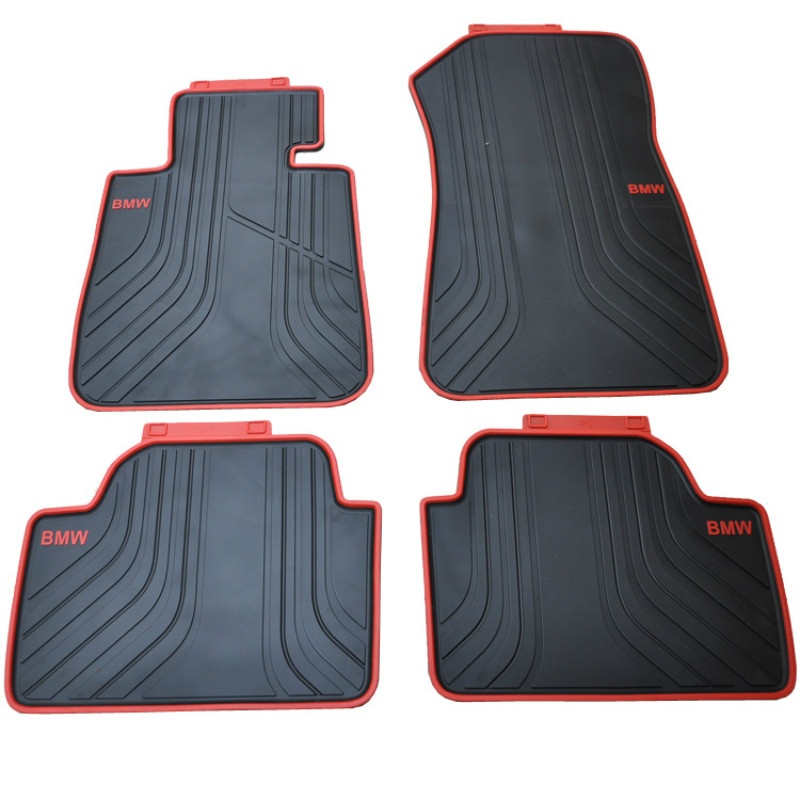 Custom Rubber Car Floor Mats Waterproof Anti Skid Carpets for 2012-2018 Year BMW 1 Series F20