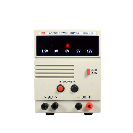 AC/DC regulated power supply MCH 127D multi level adjustable fixed voltage 7A output student experimental power supply