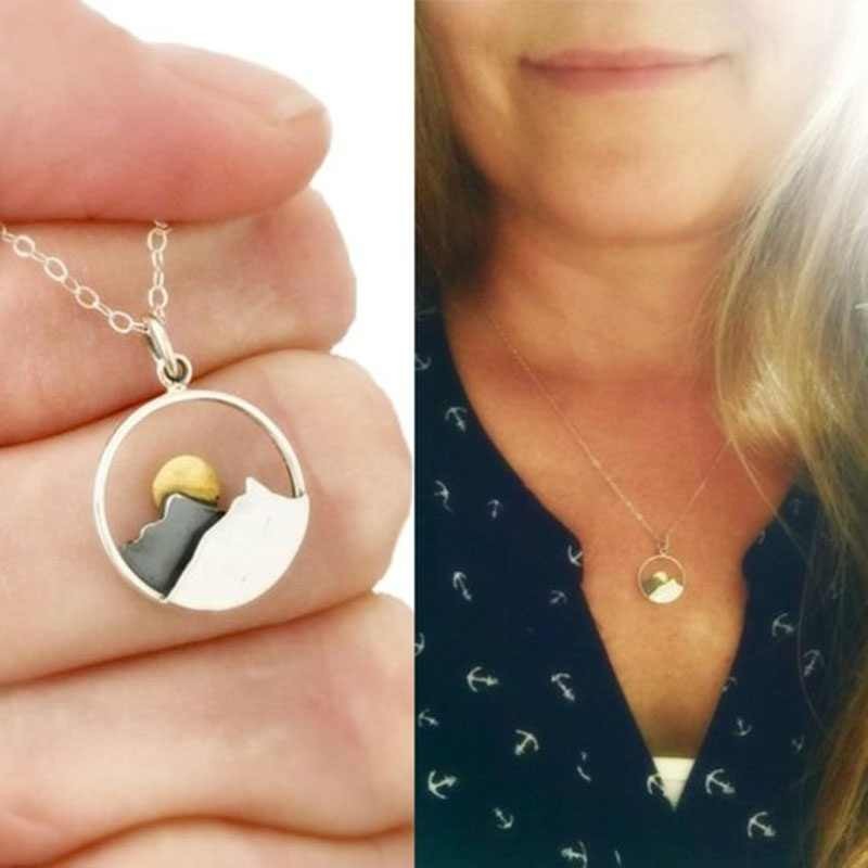 54d98d732fc75 Detail Feedback Questions about Mountain Necklace The Mountains Are ...