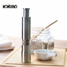 Новинка домашний кухонный инструмент ручной нержавеющая сталь соль мельница для перца специи соус мельница