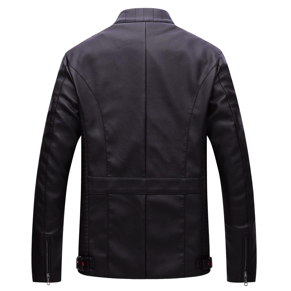 brown Pour Vestes Moto Cuir De Manteau Veste Pu Automne En Velours Black Hommes Chaud Épais Nouvelle Fgkks yvTO7c1aWa