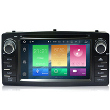 Android 6.0 Two Din 6.2 Inch Car DVD Player For BYD F3 For Toyota Corolla E120 Octa Core 2G RAM 3G/4G GSP Radio