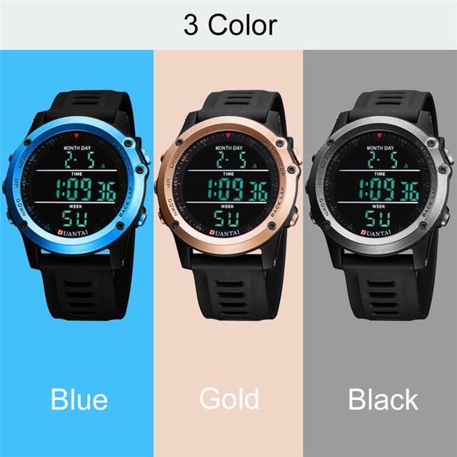6.11 DUANTAI Digital Men's Wristwatch Stopwatch