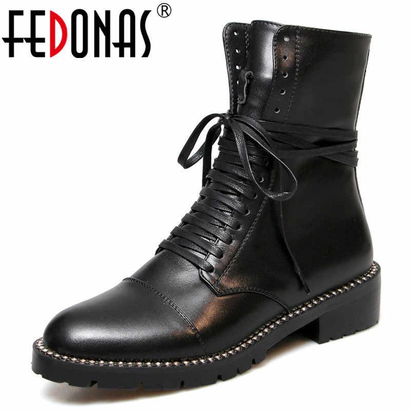 FEDONAS/2020 г.; сезон осень-зима; теплые женские сапоги выше колена; вязаные высокие сапоги из лакированной коровьей кожи; сапоги для верховой езды; женская обувь для вечеринок