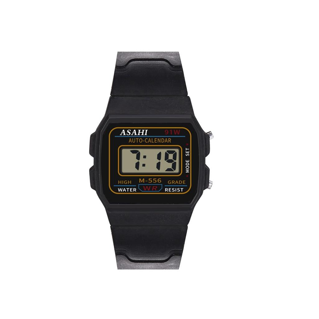 Watch Children Boys Watch For Kids Children 2019 NEW Analog Digital Scale Sport Watch LED Waterproof Wrist Watch  C0604