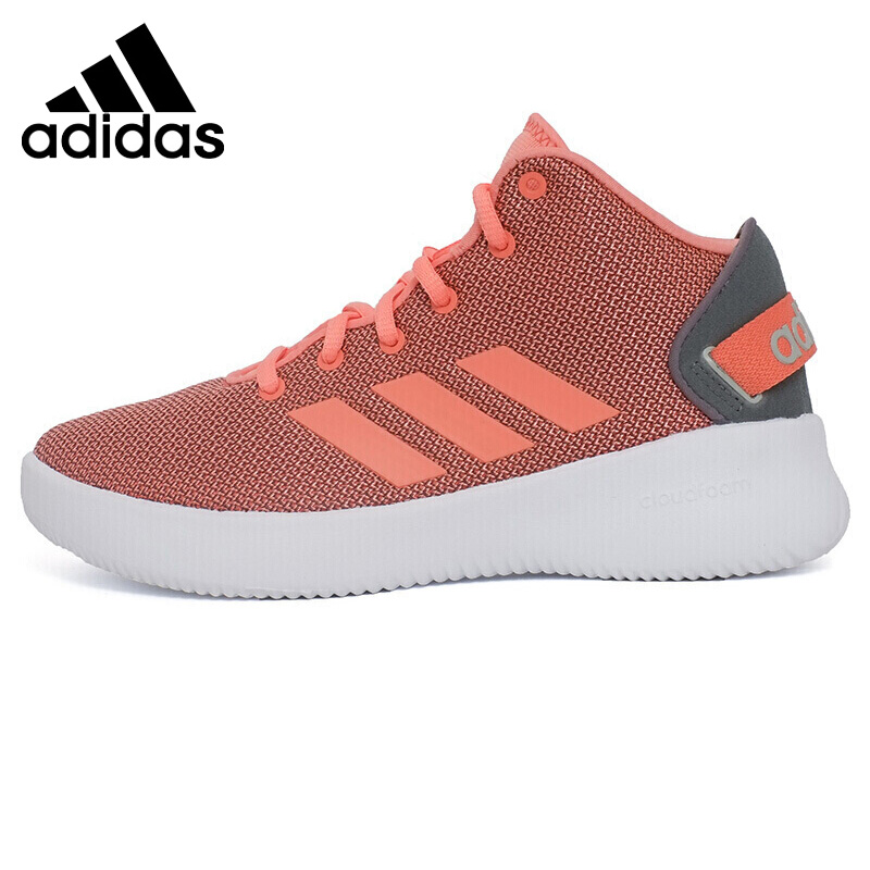 Original New Arrival 2018 Adidas NEO Label CF REFRESH MID Women's Skateboarding Shoes Sneakers термоноски guahoo sport mid weight 150 cf bk