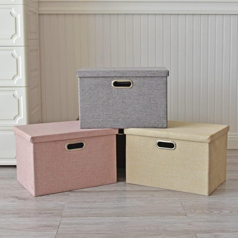 Boîte de rangement pliable pour vêtements pour enfants, multi-fonction, pour la maison, armoire, sous-vêtements, finition, boîte de rangement