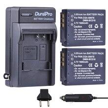 2 шт. CGA-S007E CGA-S007 CGA S007 dmw-bcm10 литий-ионный Батарея машины Зарядное устройство для Panasonic DMC tz1 TZ2 TZ3 TZ4 TZ5 tz11 e1032p tz50 tz15