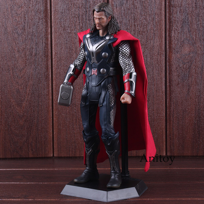 Crazy Toys Figure Marvel Legends Figures Thor Hot Toys PVC 1/6th Scale Collectible Figure Model Toy 29.5cm цена
