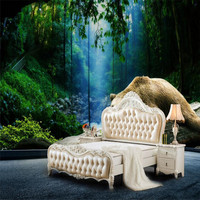 3d wallpaper modern custom home decorate nature landscape background forest wallpaper park indoors photo wall papers wall mural