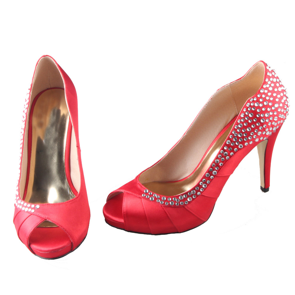 Popular Bright Red Heels-Buy Cheap Bright Red Heels lots from ...