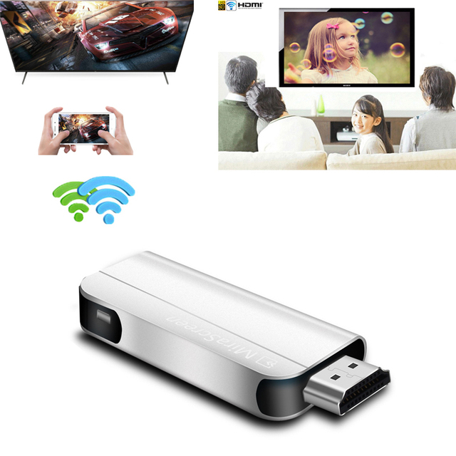 MiraScreen HD וידאו סטיק HDMI Dongle אלחוטי Wifi מקלט DLNA Airplay Miracast מסך שיקוף עבור iOS אנדרואיד טלפון לטלוויזיה