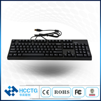 PBT Keycaps 104 Keys Keyboard with White Backlight Cherry Mechanical Gaming Keyboard