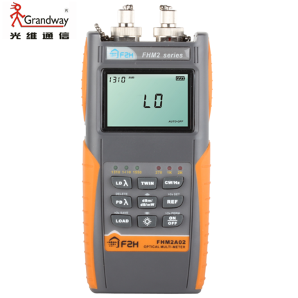 Grandway FHM2A02 Fiber Optic Loss Tester Multimeter Optical PON Power Meter Light Source 1310/1490/1550nmGrandway FHM2A02 Fiber Optic Loss Tester Multimeter Optical PON Power Meter Light Source 1310/1490/1550nm