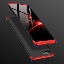 For OPPO Realme C1 Case 360 Degree Protected Full Body Phone for Shockproof Cover+Glass Film Real me