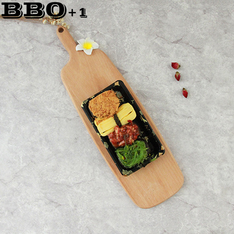 Block Board Usage ~ New arrival pcs cake sushi plate serving trays multi use