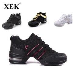 أحذية رياضية 2018 بنعل خارجي ناعم للرقص والتنفس أحذية رياضية للنساء أحذية تدريبات عصرية للرقص والجاز مناسبة للربيع أحذية رياضية هدية مجانية