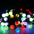 5M 10M led string lights ball AC220V/4.5V holiday wedding patio decoration lamp Festival Christmas lights outdoor light IY310108