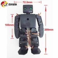 wholesale 18dof humanoid robot compatible with plen2 for arduino diy plen 2 robotic teaching model kit no battery