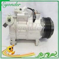 Car AC A/C Air Conditioning Cooling Compressor PV6 for BMW F07 F07N F10 F10N F11 F11N F12 F13 GE447160 4104 447160 4100 DCP05096|cooling compressor|air conditioning compressorcar ac compressor -