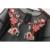 2017 primavera mulheres bordado floral beach dress meia manga o pescoço vestidos marca vestidos sexy perspectiva malha preta bbwm16177