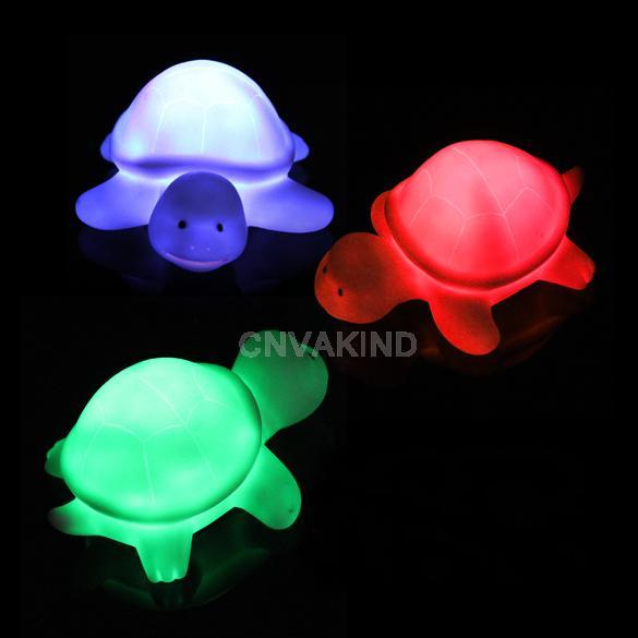 New Turtle LED 7 Colours Night light Lamp Party Christmas Decoration Colorful Night Lights