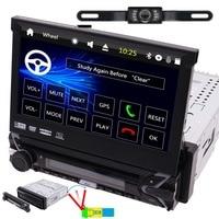 Gps 7 дюймов Универсальный Автомобильный CD DVD MP3 игрока Авторадио HD цифровой 800*480 Сенсорный экран в тире головное устройство Bluetooth FM AM Видео Aux