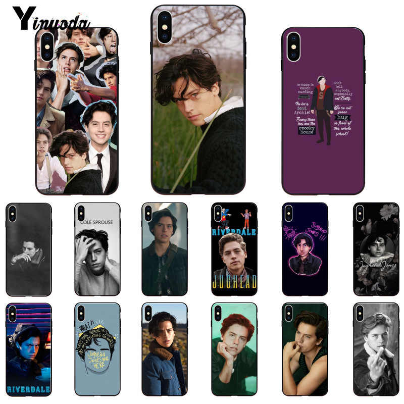 Yinuoda tv riverdale Jughead Jones TPU Soft Silicone Black Phone Case for Apple iPhone 8 7 6 6S Plus X XS MAX 5 5S SE XR