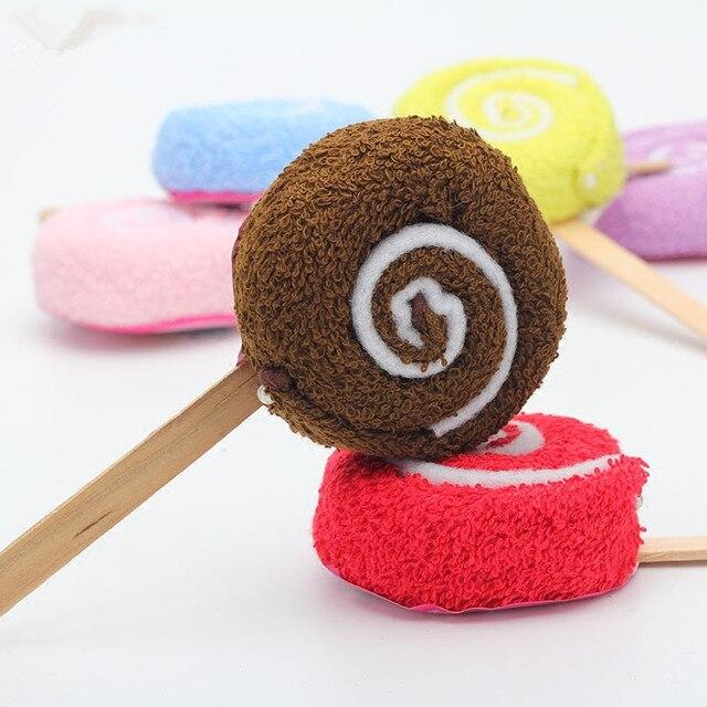 30pcs/lot Lollipop Towel Festive Birthday Party Favor Present Gift Home Decorative Accessories Supplies Gear Stuff Product 4