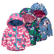 Prosic Jacket for Girls 2019 Autumn Winter Cotton Hooded