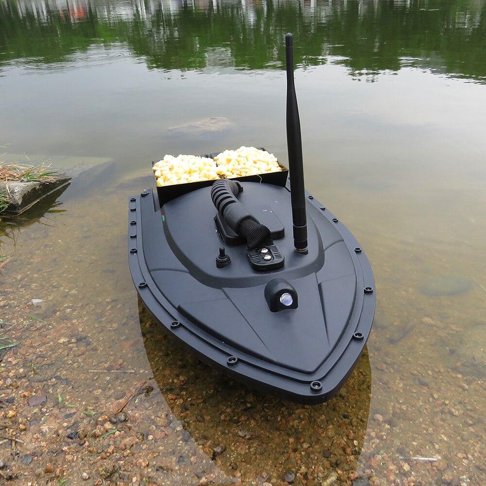 Flytec RC Bateau 2011-5 Poissons Finder 1.5 kg Chargement 500 m De Pêche De La Télécommande Bait Boat Jouets pour enfants Lipo batterie Bateau