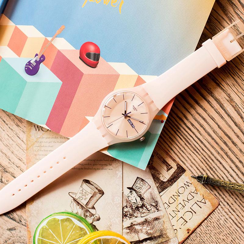 Swatch watch Original Colorful Quartz Watch Student Couple Watch SUOT700 swatch original colorful quartz watch suob135